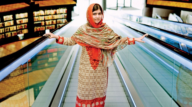 Malala Yousafazi at the Library of Birmingham