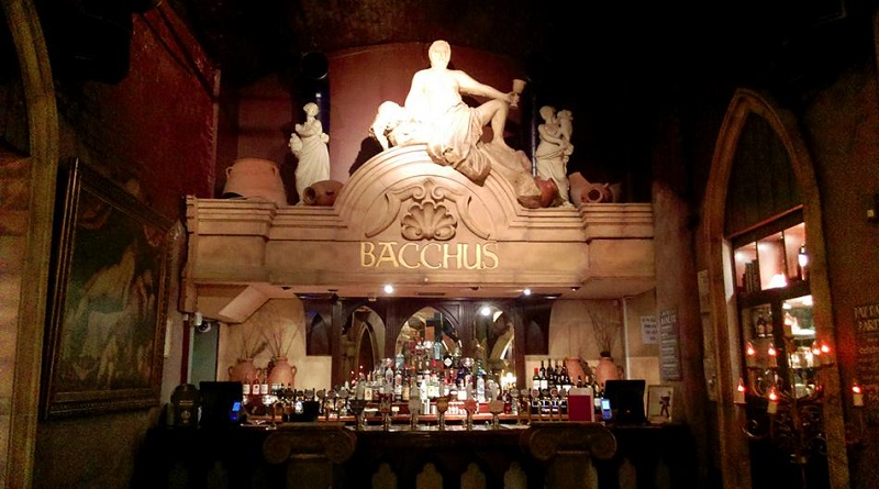 Bacchus Bar in Birmingham