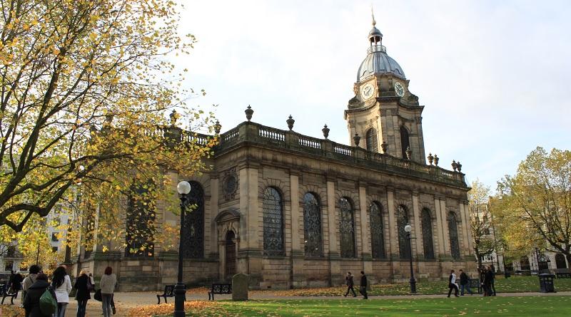 Birmingham Cathedral - St Philip's