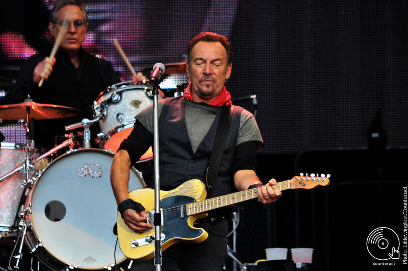 Bruce Springsteen at the Ricoh Arena, Coventry